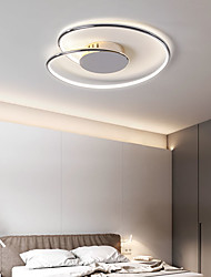 cheap -LED Ceiling Light 43 53 cm Dimmable Line Design Flush Mount Lights Aluminium Alloy Modern Style Linear Chrome LED Modern 220-240V