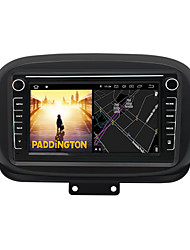 cheap -Android 9.0 Autoradio Car Navigation Stereo Multimedia Player GPS Radio 8 inch IPS Touch Screen for FIAT 1G Ram 32G ROM Support iOS System Carplay