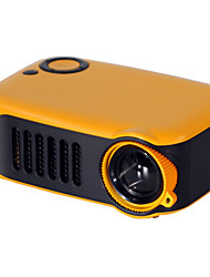 cheap -Factory Outlet A2000 LED Projector Mini Handheld Pocket Portable Manual Focus Video Projector for Home Theater 480x320P 26000 lm Compatible with TV Stick HDMI USB TF