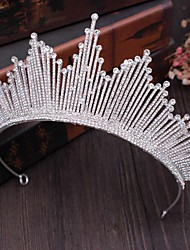 cheap -Bridal Crown Headdress Atmospheric Wedding Accessories Wedding Photography Event Performance Crown