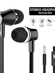 cheap -Langsdom JM21 Wired In-ear Earphone 3.5mm Audio Jack PS4 PS5 XBOX Ergonomic Design Stereo Dual Drivers for Apple Samsung Huawei Xiaomi MI  Everyday Use Traveling Outdoor Mobile Phone