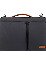 cheap -14 Inch Laptop / 15.6 Inch Laptop / 13 Inch Laptop Briefcase Handbags Nylon Fiber Solid Color for Men for Women for Business Office Waterpoof Shock Proof
