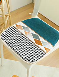 cheap -Floor Pillow Seat Cushion Thicken Prevent Slip European Style Chenille Chair Cushion Seat Cushion Home Office Bedroom Home Use Dining Table Chair Cushion