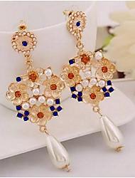 cheap -Women's Earrings Fashion Vintage Classic Earrings Jewelry Blue / Black For Street 1 Pair
