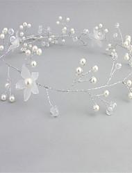 cheap -Imitation Pearl / Alloy Headpiece with Acrylic / Imitation Pearl 1 PC Wedding / Party / Evening Headpiece
