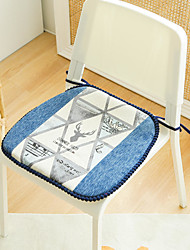 cheap -Floor Pillow Seat Cushion Northern Europe Simplicity Thicken Prevent Slip European Style Chenille Chair Cushion Seat Cushion Home Office Bedroom Home Use Dining Table Chair Cushion