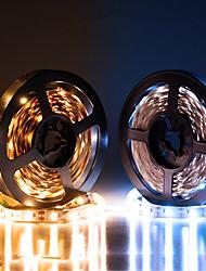 cheap -LED Light Strips USB Interface or AA Battery Box Power Supply Flexible 2835 SMD Per Meter 60 LEDs 8mm Warm White Cold White 5V LED Light Strip