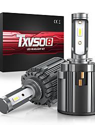 cheap -TXVSO8 LED H7 6000K White Car Headlight Bulbs 12V 70W CSP Chips Auto Lamps For Volkswagen Golf GTI R MK7 Tiguan EOS T-ROC Touran Passat/Mercedes-Benz Metris 2010-2020 Year 2pcs