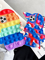 cheap -Phone Case For Apple Back Cover iPhone 12 Pro Max 11 SE 2020 X XR XS Max 8 7 Shockproof Dustproof Cartoon Silicone