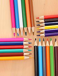cheap -24pcs Sketching Coloring Color Pencil Colors Professional Drawing Pencils Graffiti Color Lead Artist School DIY Art Supplies