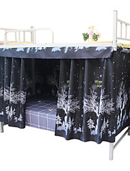cheap -Bunk Bed Curtain Student Shading Animal Easy Install Wholesale Thickening High Net