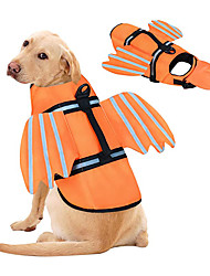 cheap -Dog Life Jacket, Unique Wings Design Pet Flotation Life Vest for Small, Middle, Large Size Dogs, Dog Lifesaver Preserver Swimsuit with Handle for Swim, Pool, Beach, Boating