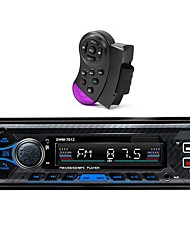 cheap -SWM-7812 Single 1 DIN In Dash Head Car Radio Stereo Player BT5.0 Car MP3 Player 60W FM Radio Stereo Audio Music USB/SD Voice Control with 4 way RCA output