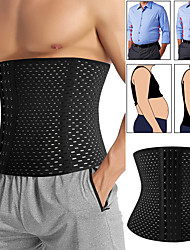 cheap -Men Slimming Body Shaper Waist Trainer Trimmer Belt Corset For Tummy Tummy Shapers Tummy Control Fitness Compression Shapewear