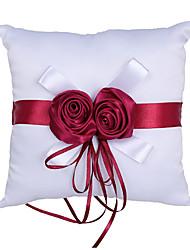 cheap -Flower Plastic Ring Pillow Beach Theme / Wedding All Seasons
