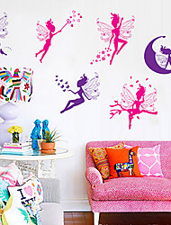 cheap -Fanxi Color Fairy Wings Girl Children Bedroom Kindergarten Wall Paste Can Remove Tv Background 50*70cm Children Bedroom Kindergarten Wall Decor