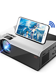 cheap -G08 LED Projector WIFI Projector Keystone Correction WiFi Bluetooth Projector Video Projector for Home Theater 480x360 2300 lm Android6.0 Compatible with TV Stick HDMI USB VGA