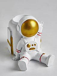 cheap -Multifunctional Astronaut Pen Holder Mobile Phone Holder Ornaments Desk Computer Desk Storage Decorations Small Furnishings