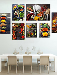 cheap -Wall Art Canvas Prints Painting Artwork Picture Food Still Life Home Decoration Dcor Rolled Canvas No Frame Unframed Unstretched