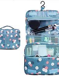 cheap -Travel Wash Bag Cosmetic Storage Bag Printed Portable Bath Products Storage Bag with Crock 24.6*9.4*20.1cm