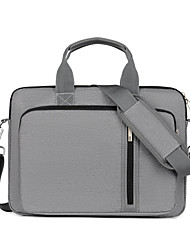 cheap -13.3 Inch Laptop / 15.6 Inch Laptop Shoulder Messenger Bag / Briefcase Handbags Nylon Fiber Solid Color Unisex Waterpoof