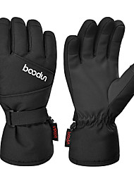 cheap -Ski Gloves Snow Gloves for Boys and Girls Kids Thermal Warm Waterproof Windproof Thinsulate Full Finger Gloves Snowsports for Cold Weather Winter Skiing Snowboarding