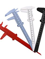 cheap -3pcs Vernier Caliper Double Scale Rulers Plastic Caliper Measurement Tools Student Mini Tool Rulers Measuring Calipers Tool