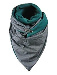 cheap -Women's Infinity Scarf Dailywear Green Scarf Print