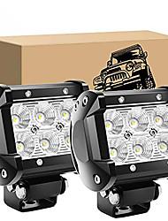 cheap -OTOLAMPARA 1 Pair 3.8 inches 30W SUV LED Work Lights IP67 Waterproof Spot Lighting Beam Full Alumium Alloy Stainless Steel Work Lights White