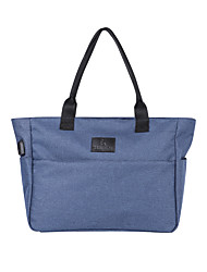 cheap -17 Inch Laptop Briefcase Handbags Canvas Solid Color for Men for Women for Business Office Shock Proof