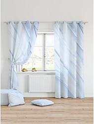 cheap -Window Drapes Curtain Window Treatments 2 Panels Room Darkening Geometric for Living Room Bedroom Patio Sliding Door