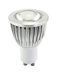 cheap -GU10 LED Light Bulbs 40W Halogen Bulb Equivalent 220 Volt 4.3W 400lm 3000K Soft Warm White 90 The Angle Beam Angle SpotlightTrack Light Recessed Light Lens aluminum Non Dimmable