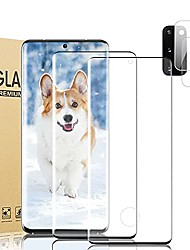 """cheap -2+2 pack s20 screen protector,camera lens protector, for samsung galaxy s20 5g, 9h advanced anti-drop tempered glass, 3d touch accuracy, support fingerprint,no air bubbles (6.2"""")"""