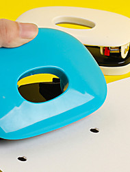 cheap -Double hole puncher office student stationery puncher binding supplies puncher small mini cute multifunctional