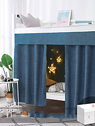 cheap -Bunk Bed Curtain Student Shading Solid Easy Install Wholesale Thickening High Net