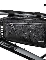cheap -INBIKE Bike Frame Bag Top Tube Rain Waterproof Cycling Wearable Bike Bag Oxford Cloth 210D Nylon Bicycle Bag Cycle Bag Similar Size Phones Null