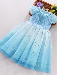 cheap -[110-150cm] girls gradient puffy dress