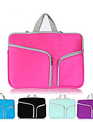 cheap -11.6 Inch Laptop / 13 Inch Laptop / 15 Inch Laptop Sleeve / Briefcase Handbags Polyester Solid Color for Men for Women for Business Office Shock Proof