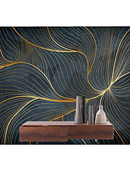 cheap -Mural Wallpaper Wall Sticker Covering Print Peel and Stick Self Adhesive Line Art Illustration Restaurant  PVC / Vinyl   Home Decor