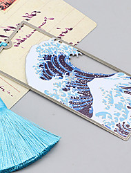 cheap -Inspirational Creative Colored ocean style Bookmarks for Women Page Markers for Students Teachers Reading