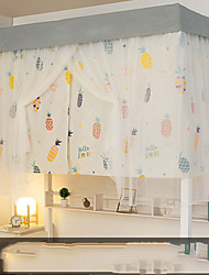 cheap -Bunk Bed Curtain Student Summer Lengthen Easy Install Wholesale Thickening High Net