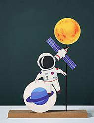 cheap -Spaceman Astronaut Healing Department Small Ornaments Children Boys Room Desk Cute Creative Ornaments