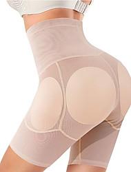 cheap -Women Shapewear Control Panties Body Shaper Butt Lifter Padded Hip Enhancer Seamless Underwear Hi- Waist Short