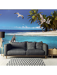 cheap -Mural Wallpaper Wall Sticker Covering Print Peel and Stick Removable Self Adhesive Landscape Sea PVC / Vinyl Home Decor