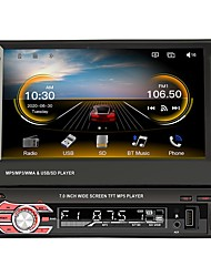 cheap -9601C 1 Din Car Multimedia Player Manual Retractable MP5 Radio Stereo With Carplay Function Support AHD TF/USB Rear View Camera For Volkswagen VW Golf Toyota Hyundai Kia Honda