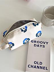 cheap -Pencil  pen  Case box back to school gift Cute animals cartoon Simple Stationery Bag Holder zippe 20*7.5 cm