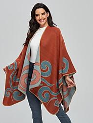 cheap -2021 Lady Shawl Autumn/Winter Warm Cashmere Scarf Fashion Travel Photo Slit Cape Manufacturers Direct Sales 135*175cm