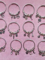 cheap -Women's Vintage Bracelet Geometrical Owl Heart Pineapple Vintage Steel Bracelet Jewelry 1# / 2# / 3# For Street