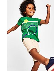 cheap -[18m-7y]boys football print short sleeve t-shirt