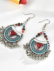 cheap -Women's Earrings Vintage Style Fashion Classic Boho Earrings Jewelry Blue / White / Black For Street 1 Pair
